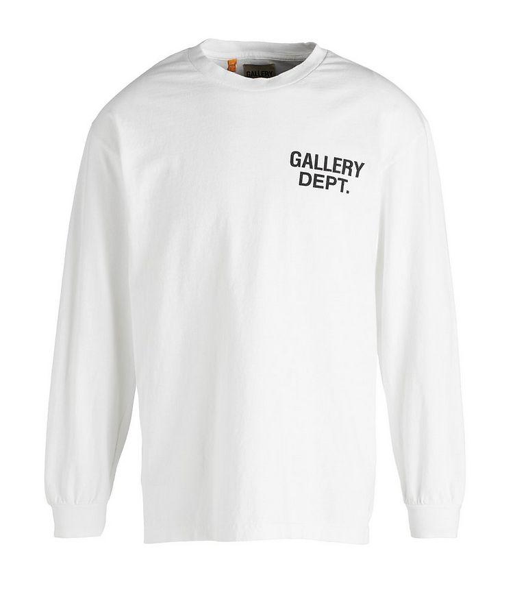 Souvenir Long-Sleeve Cotton T-Shirt image 0