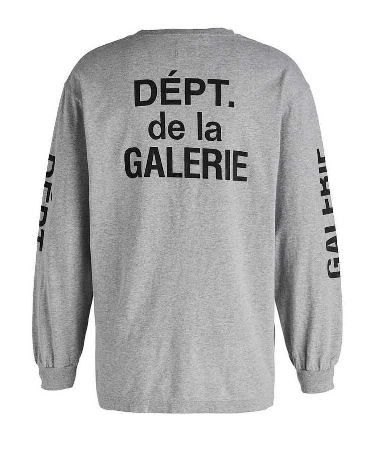 French Collector Long-Sleeve Cotton T-Shirt image 1