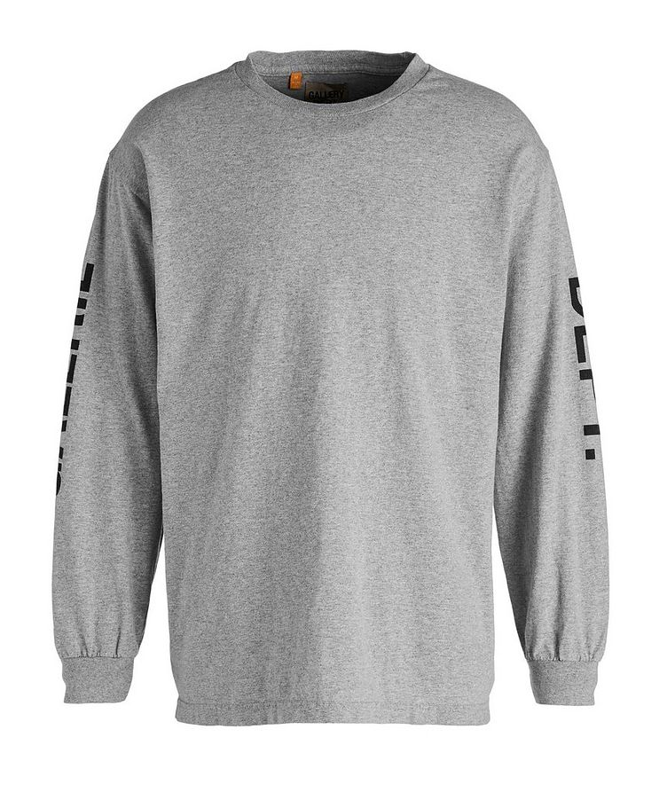French Collector Long-Sleeve Cotton T-Shirt image 0