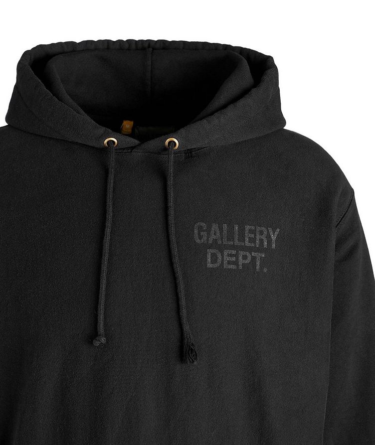 Logoed Cotton-Blend Hoodie image 1