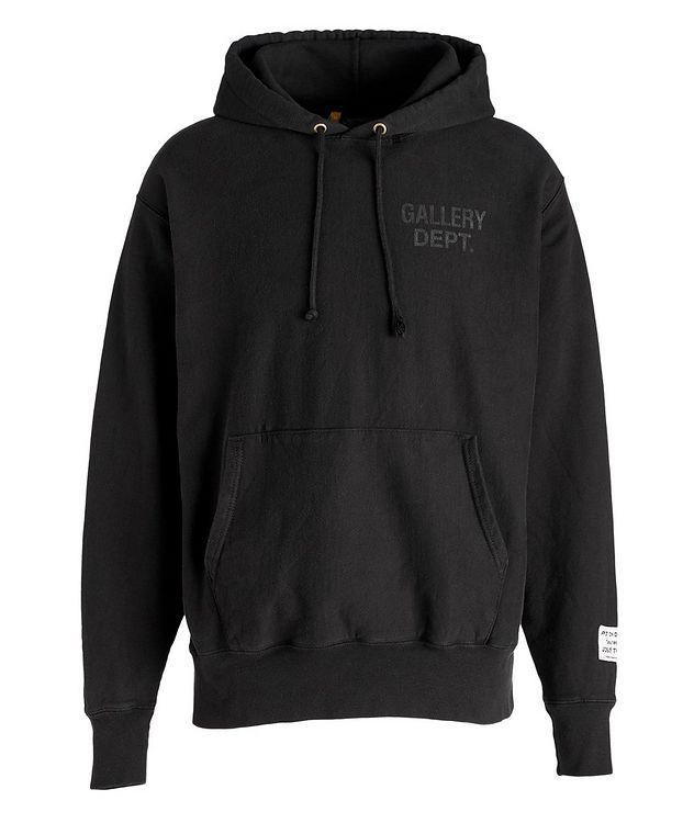 Logoed Cotton-Blend Hoodie picture 1