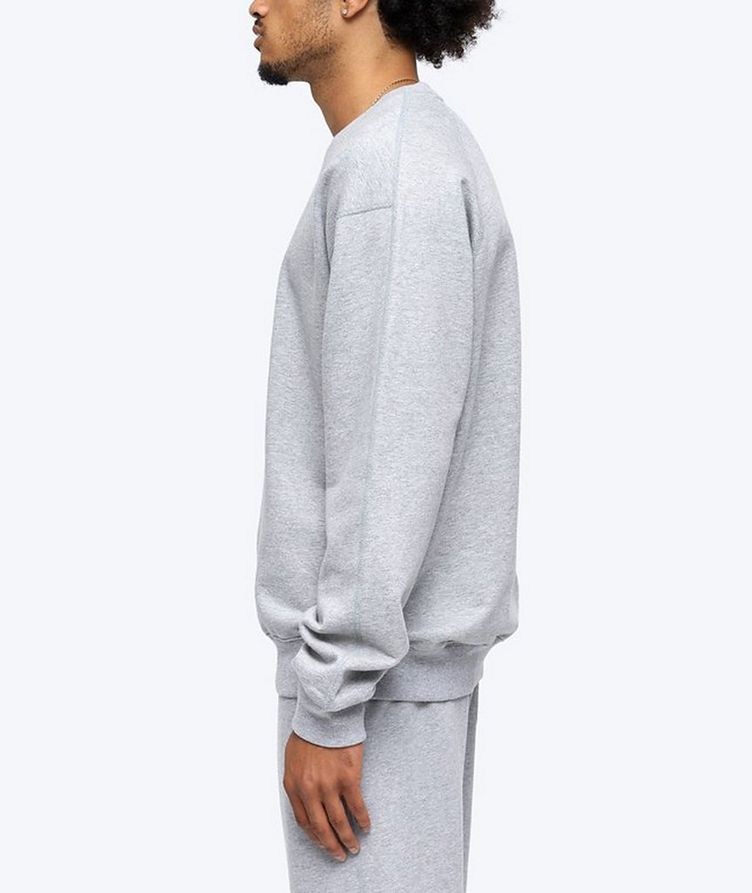 French Terry Cotton Sweatshirt image 3