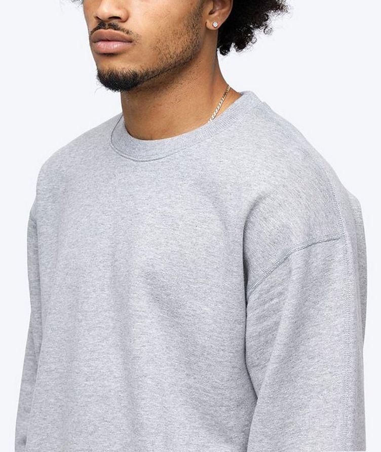 French Terry Cotton Sweatshirt image 4