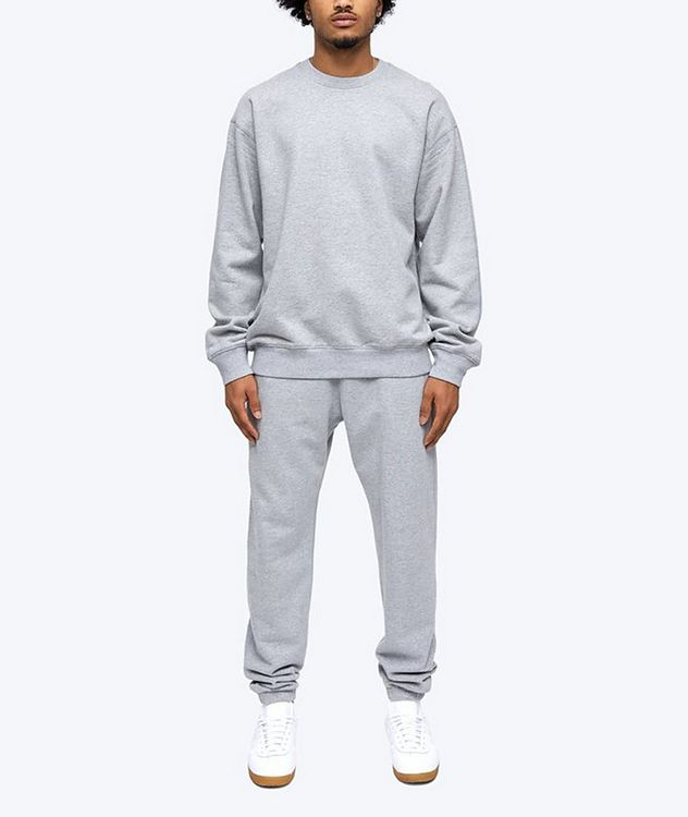 French Terry Cotton Sweatshirt picture 7