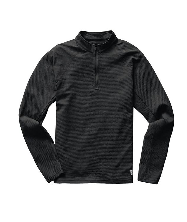 Solotex Mesh Quarter-Zip Pullover picture 1