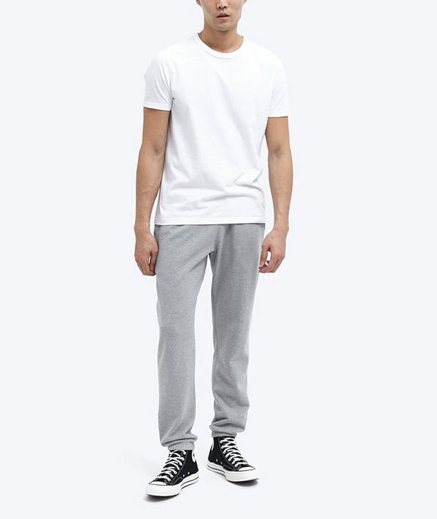 French Terry Cotton Joggers picture 3