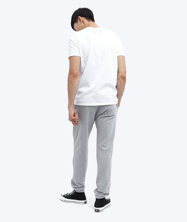 French Terry Cotton Joggers picture 4