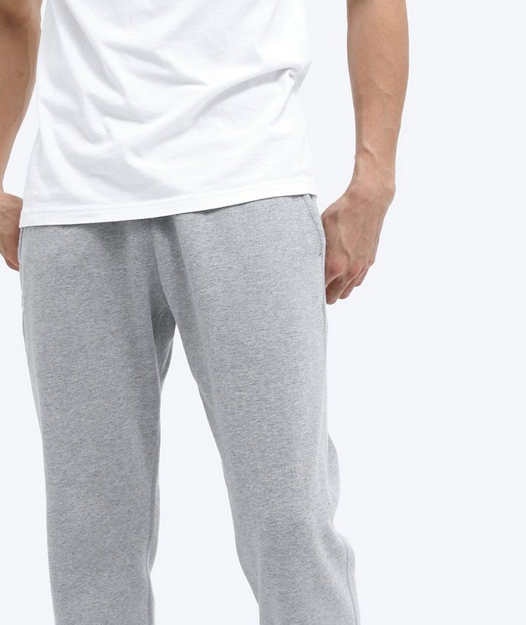 French Terry Cotton Joggers image 4