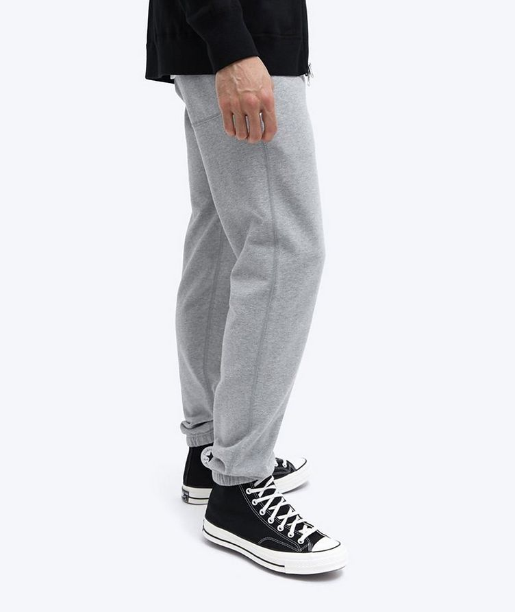 French Terry Cotton Joggers image 5
