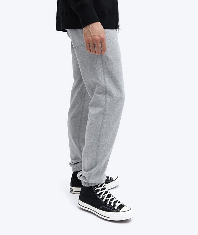 French Terry Cotton Joggers picture 6