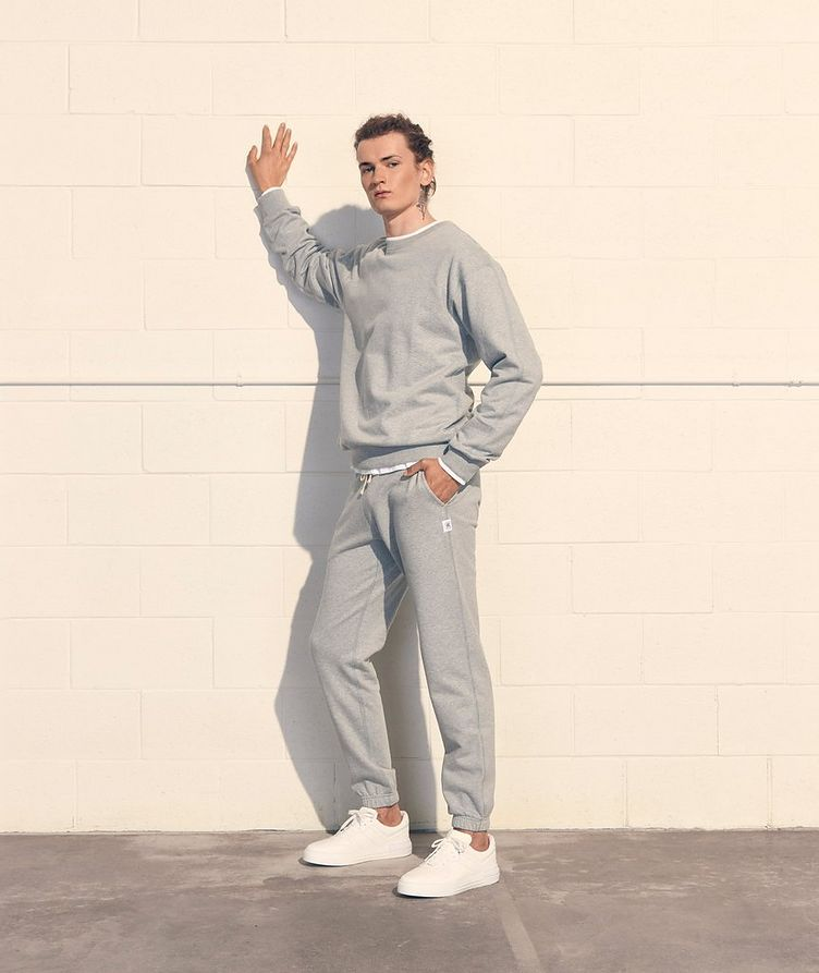 French Terry Cotton Joggers image 7