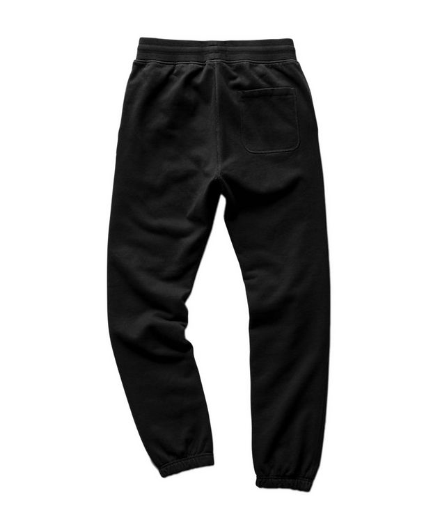 French Terry Cotton Joggers picture 2