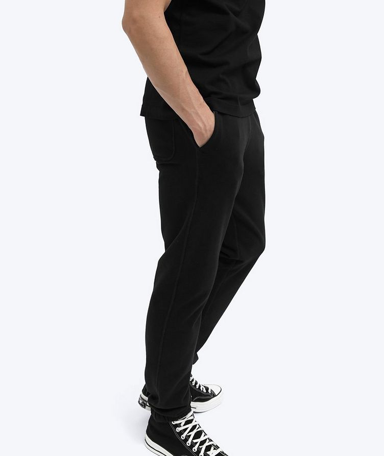 French Terry Cotton Joggers image 3