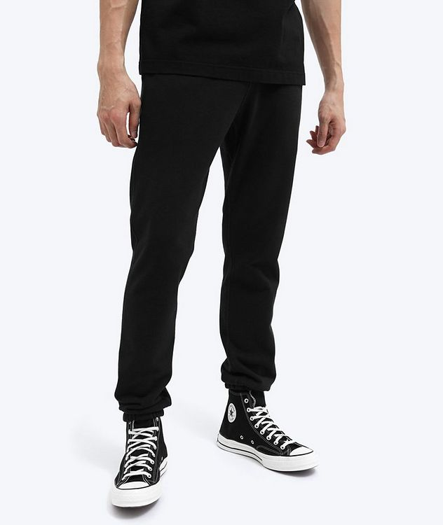 French Terry Cotton Joggers picture 5
