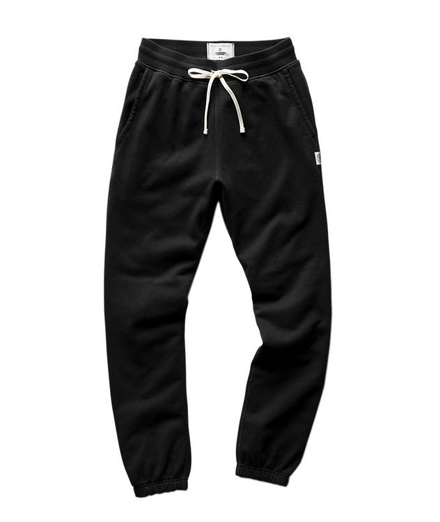 French Terry Cotton Joggers picture 1