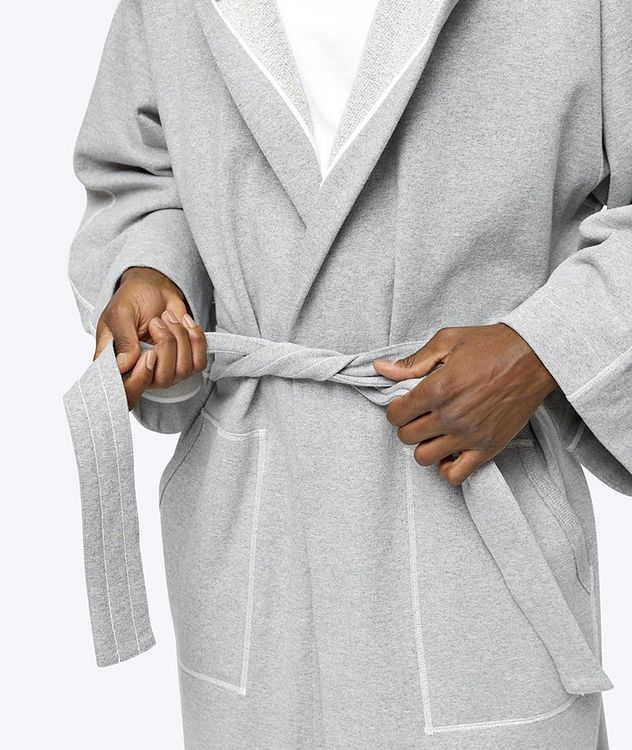Everlast Cotton-Blend Hooded Robe picture 7