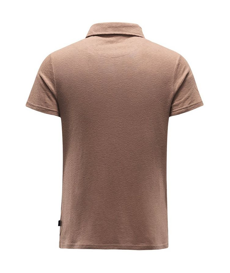 Linen-Wool Polo image 1