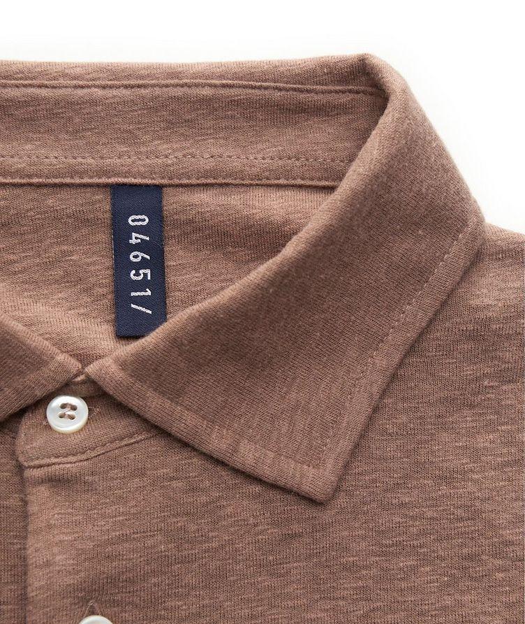 Linen-Wool Polo image 2