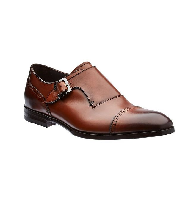 Leather Monk-Straps picture 1
