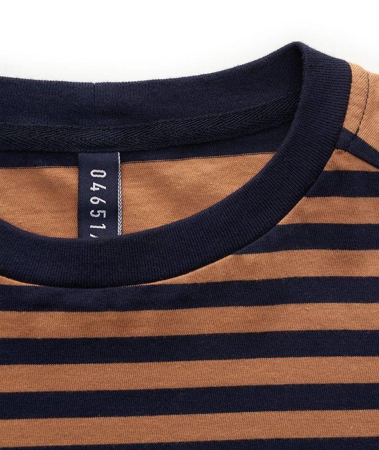 Striped Cotton T-Shirt image 2