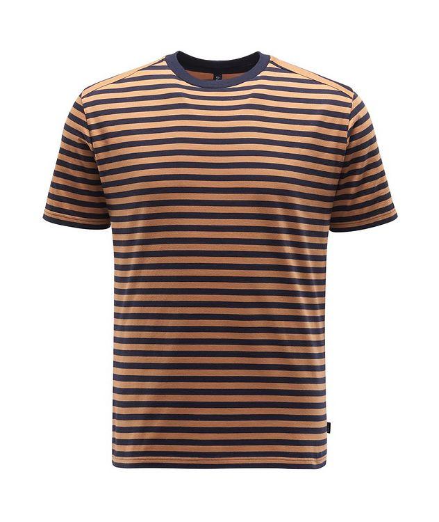 Striped Cotton T-Shirt picture 1