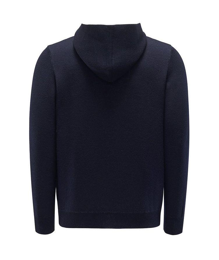 Kangourou en tricot à glissière image 1
