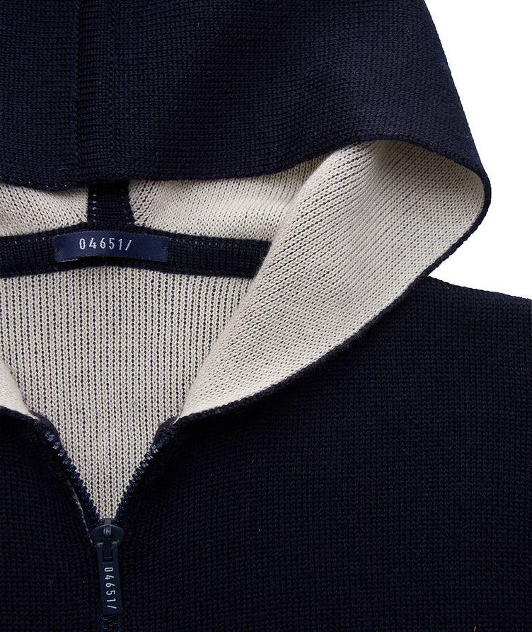 Kangourou en tricot à glissière image 2