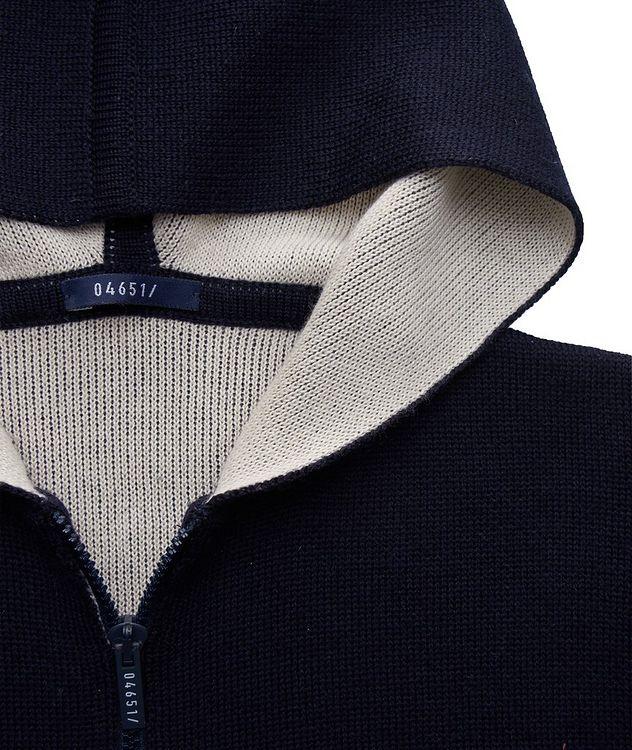 Kangourou en tricot à glissière picture 3