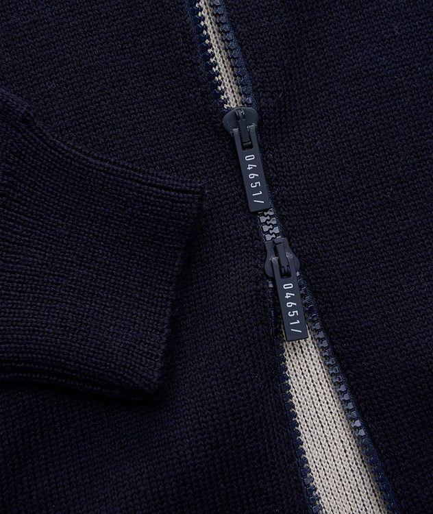 Kangourou en tricot à glissière picture 4
