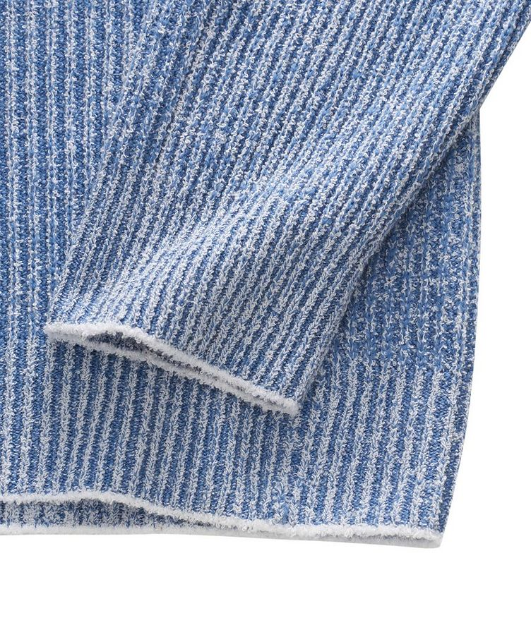 Ribbed Knit Sweater image 4
