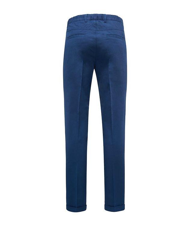 Stretch Linen-Cotton Drawstring Pants picture 2