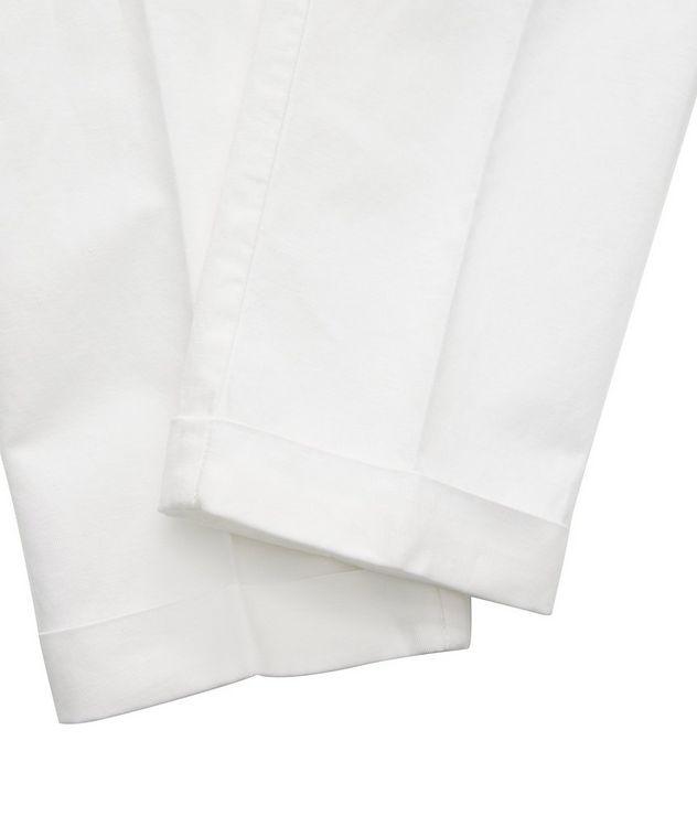 Stretch Linen-Cotton Drawstring Pants picture 5