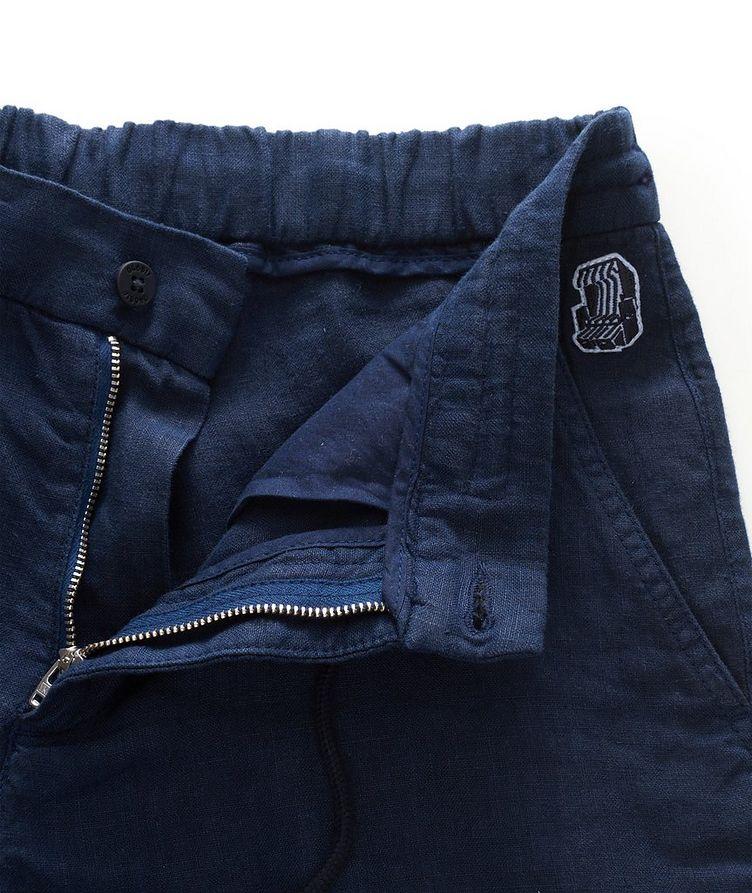 Linen Bermuda Shorts image 3