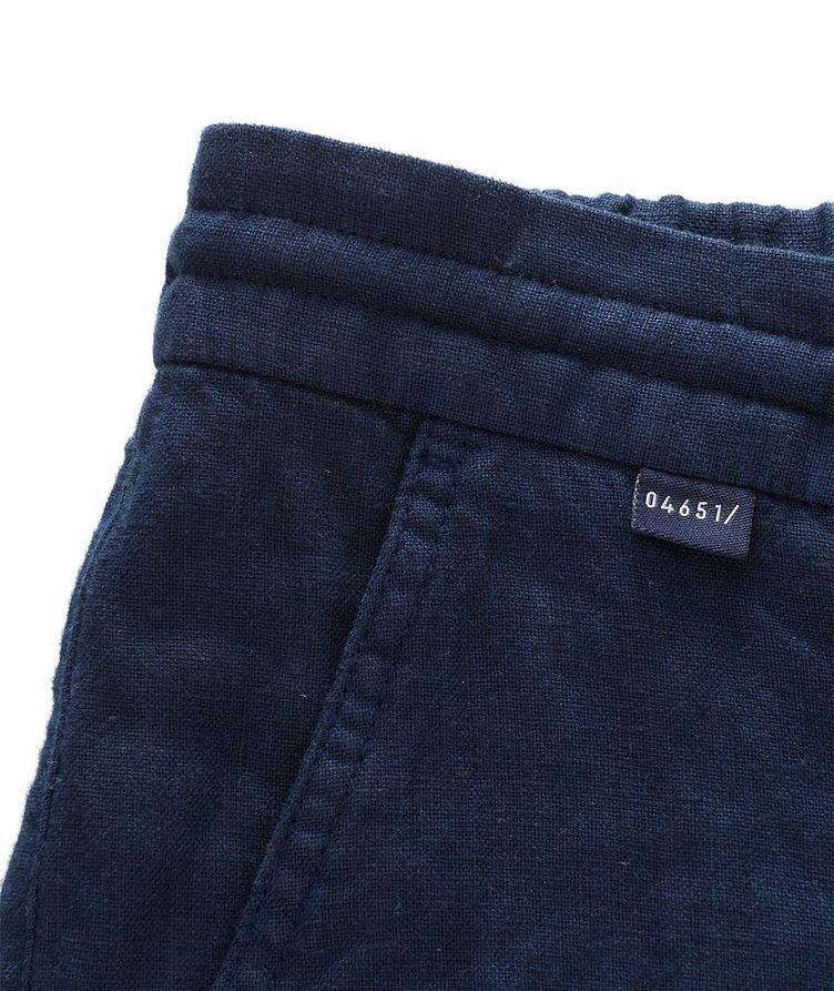 Linen Bermuda Shorts image 4