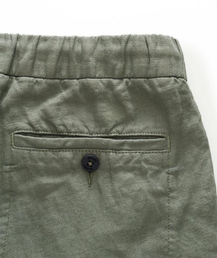 Linen Bermuda Shorts image 2
