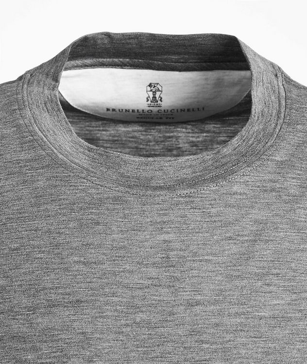 Silk-Cotton Jersey T-Shirt picture 2