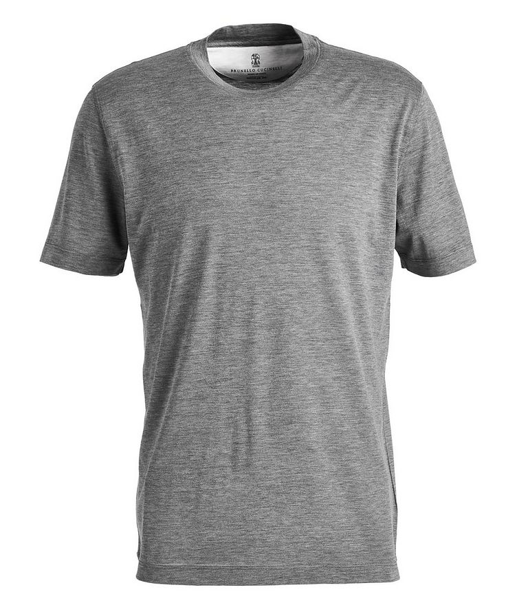 Silk-Cotton Jersey T-Shirt image 0