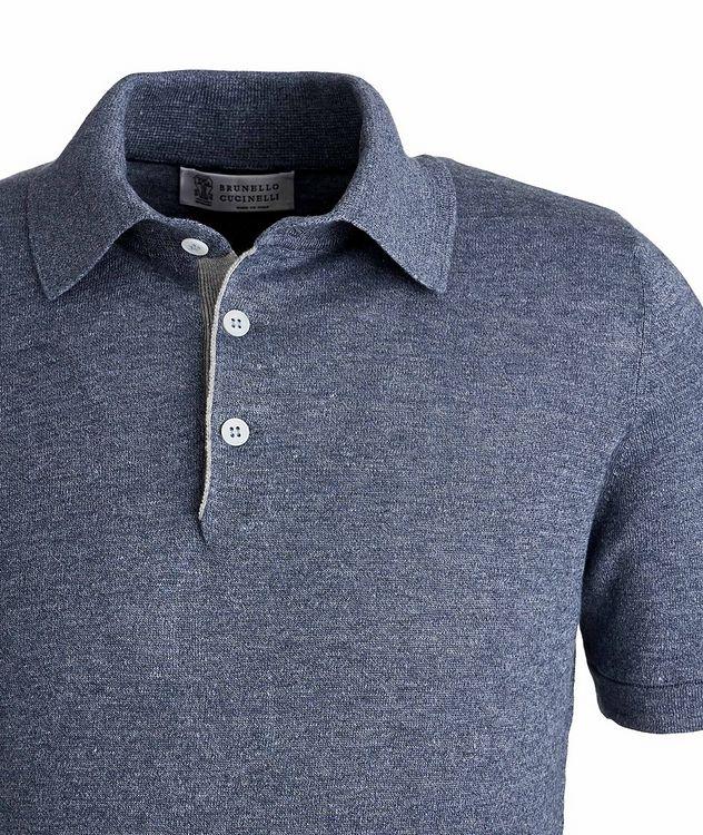 Knit Linen-Cotton Polo picture 2