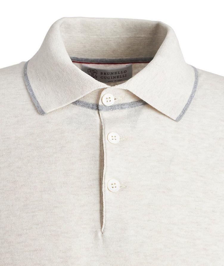 Woven Cotton Polo image 1
