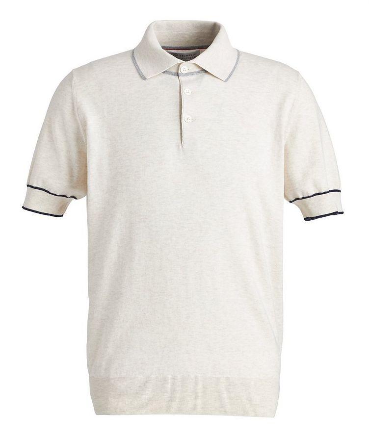 Woven Cotton Polo image 0