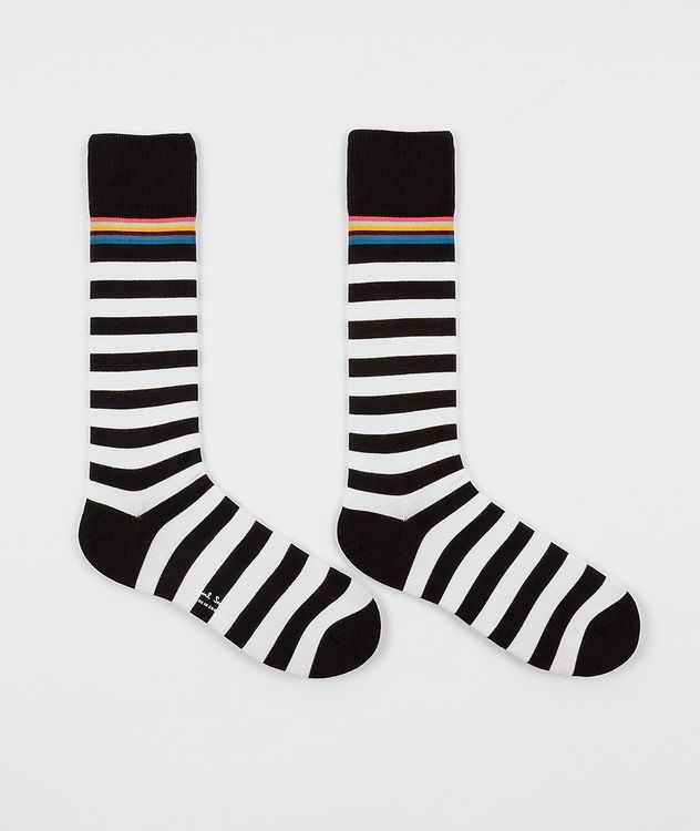 2-Pack Printed Cotton-Blend Socks picture 2