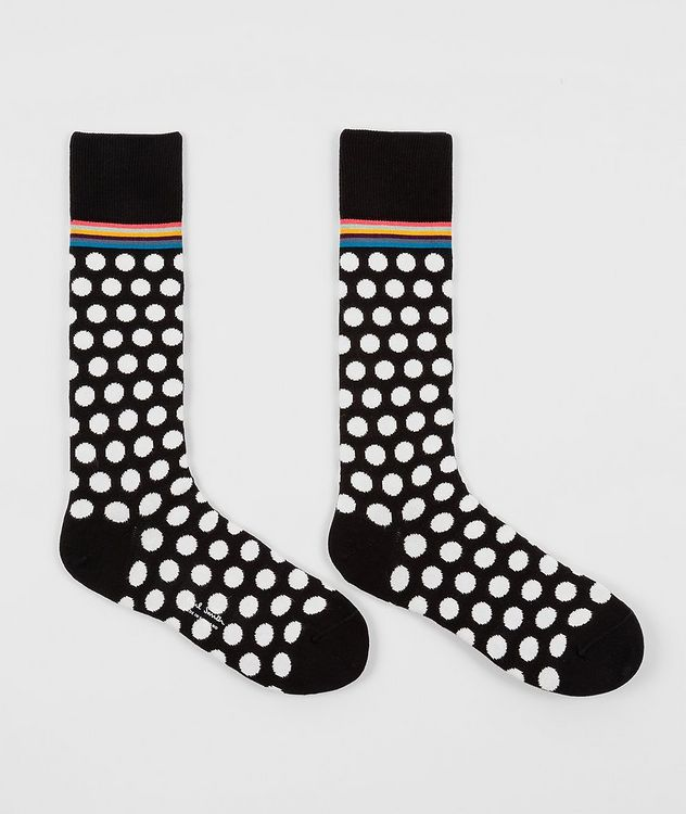 2-Pack Printed Cotton-Blend Socks picture 3