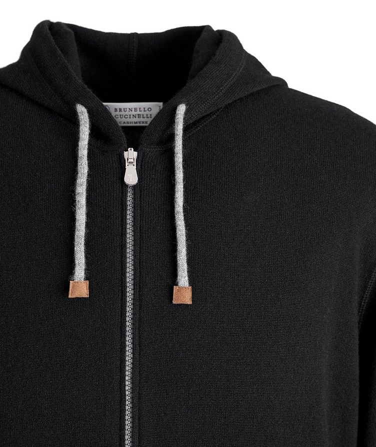 Cashmere Zip-Up Hoodie image 1