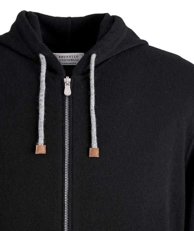 Cashmere Zip-Up Hoodie picture 2