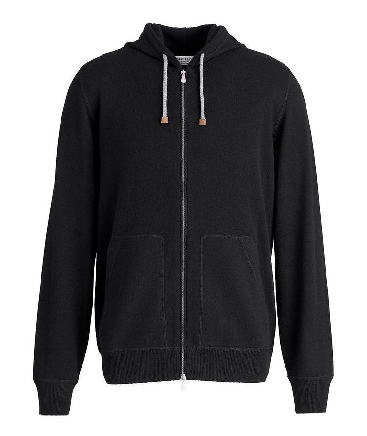 Cashmere Zip-Up Hoodie image 0