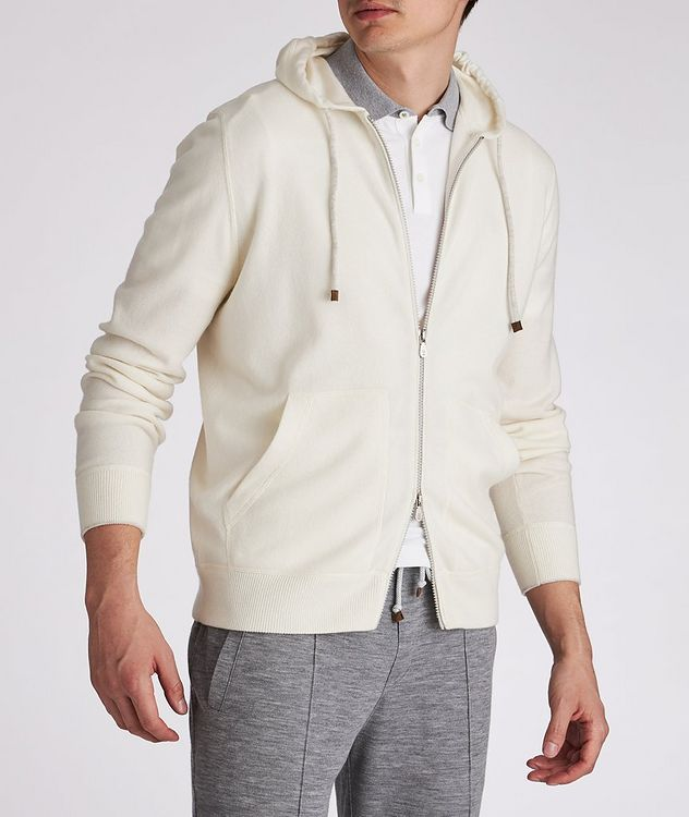 Cashmere Zip-Up Hoodie picture 4