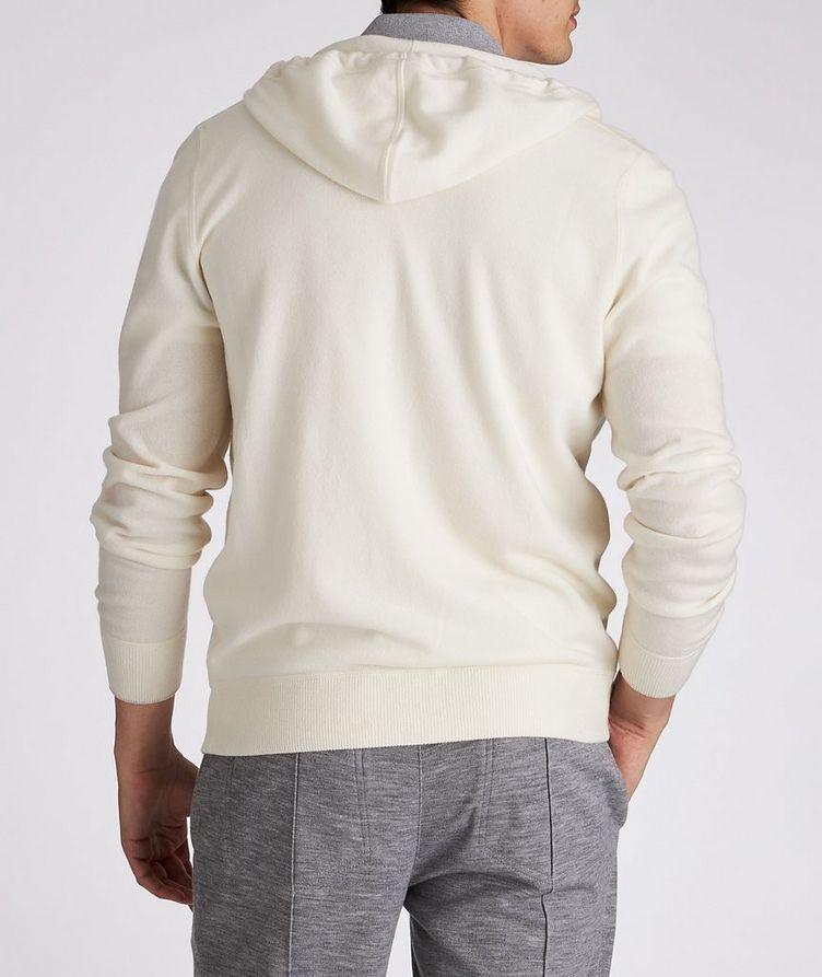Cashmere Zip-Up Hoodie image 4