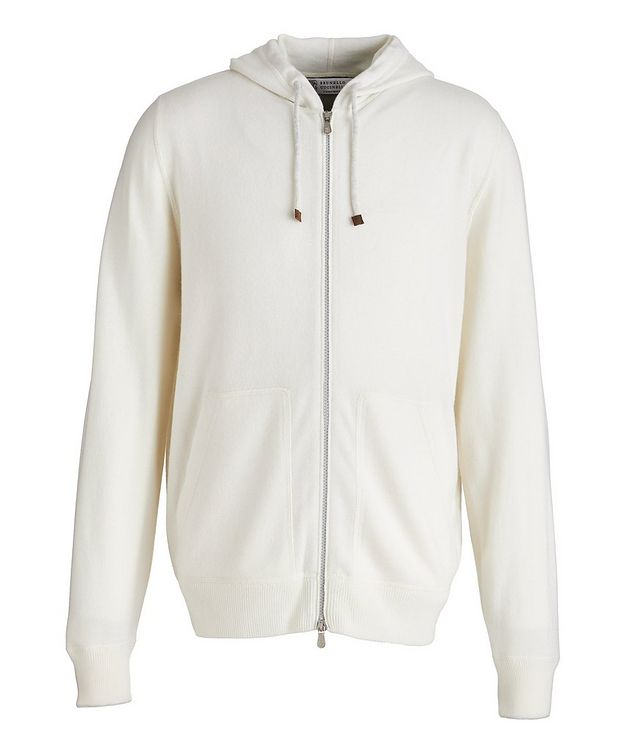 Cashmere Zip-Up Hoodie picture 1