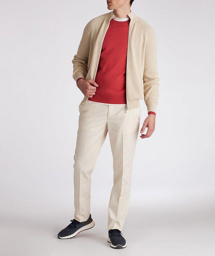 Knit Cotton Sweater image 3