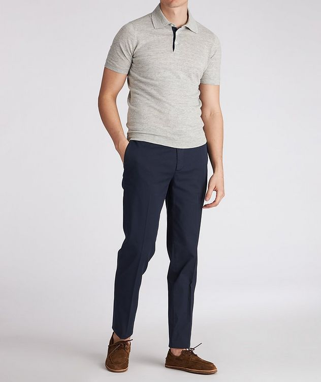 Slim-Fit Stretch-Cotton Chinos picture 5